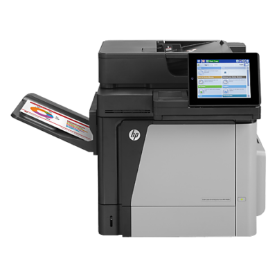 HP LaserJet M680dn Color LaserJet Enterprise Multifunction M680dn Printer, 45 ppm, 1200 x 1200 dpi, 800 Mhz, Flatbed/ADF Scanner  CZ248A