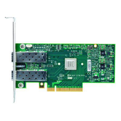ConnectX®-3 EN NIC, 10GigE, dual-port SFP+, PCIe3.0