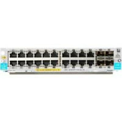 HP J9990A network switch 20-port 10/100/1000BASE-T PoE+ / 4-port 1G/10GbE SFP+ J9990A