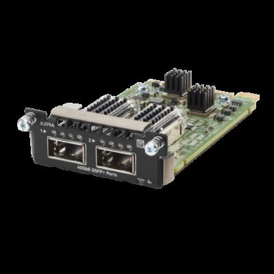 Hewlett Packard Enterprise Aruba 3810M 2QSFP+ 40GbE Module Aruba 3810M 2QSFP+ 40GbE Module  JL079A