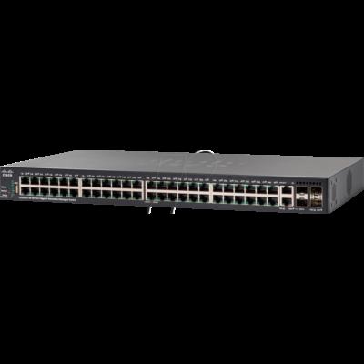 SG350X-48MP-K9-EU Cisco Small Business SG350X-48MP - switch - 48 ports - Managed - rack-mountable