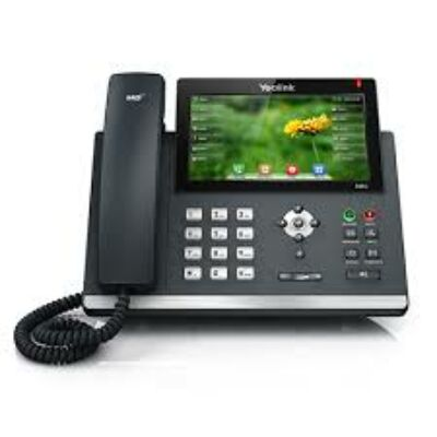 SIP-T48G Yealink SIP-T48G - VoIP phone TCP/IP, VOIP, Power over Ethernet, CLIP, Phone Book, Hands Free, Date, Volume Control