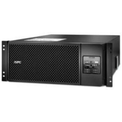 APC Smart-UPS On-Line, 40 - 70, 3:1, 50/60, C13 coupler, C19 coupler, RJ-45, Sealed Lead Acid (VRLA)  Smart-UPS SRT 6000VA RM 230V SRT6KRMXLI
