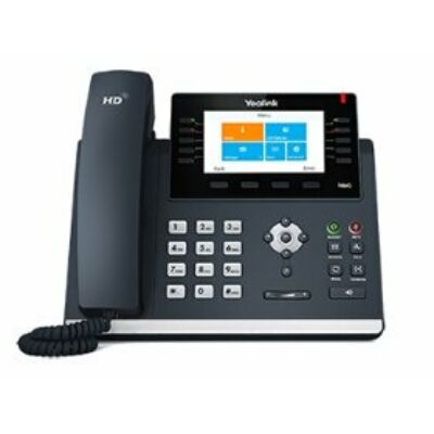 T46G-Skype4B The professional desktop color phone is for customers who expect high phone performance.