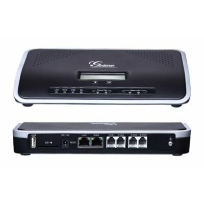 GRANDSTREAM UCM6102 IP PBX  UCM6102 Hybrid IP PBX with 2x FXO, 2x FXS, 2x Ethernet, NAT Router