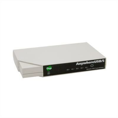 Digi AnywhereUSB 5 port with Multi-host Connections