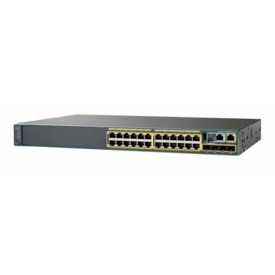 WS-C2960X-24TS-L Cisco Catalyst 2960-X 24 GigE, 4 x 1G SFP, LAN Base Switch