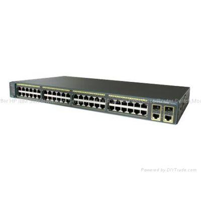 WS-C3750X-24P-E Cisco Catalyst 3750X-24P-E - Switch