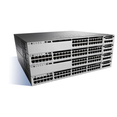 WS-C3850-24T-S Cisco Catalyst WS-C3850-24T-S Managed Black,Grey network switch Cisco Catalyst 3850-24T-S - Switch - L3 - Managed - 24 x 10/100/1000 - desktop, rack-mountable