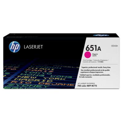 HP 651A - 16000 oldal - bíborvörös - 1 db CE343A