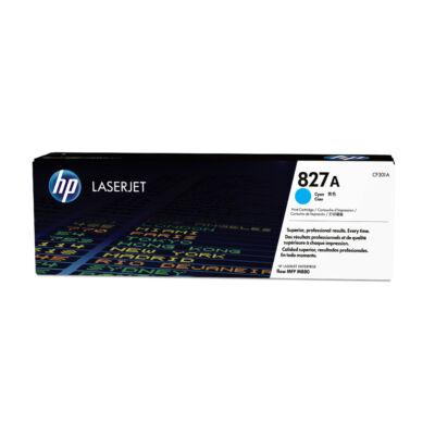 HP Color LaserJet 827A - Toner Cartridge Original - cyan - 32,000 pages CF301A