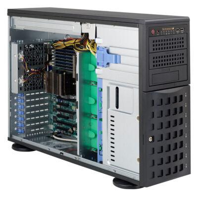 Supermicro SC745TQ-R800B - Full-Tower - Server - Black - 4U - 10 - 35 °C - -40 - 70 °C CSE-745TQ-R800B