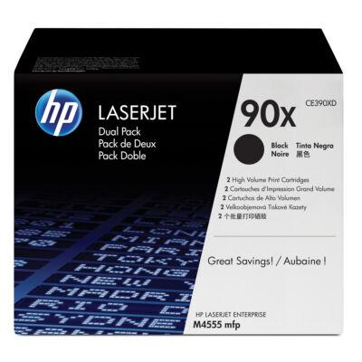 HP 90X - 48000 oldal - fekete - 2 db CE390XD