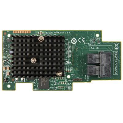 Intel RMS3CC080 - SAS, soros ATA - PCI Express x8 - teljes magasságú (alacsony profilú) - 0 - 1 - 10 - 5 - 50 - 6 - 60 - 12 Gbit / s - tároló csatlakozó modul RM