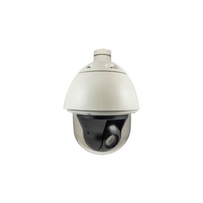 LevelOne HUBBLE PTZ Dome IP hálózati kamera - 2 megapixeles - 30X optikai zoom - beltéri / kültéri - kétirányú audio - 802.3at PoE - IP biztonsági kamera - Outd