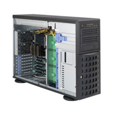 Supermicro SuperChassis 745BTQ-R1K28B-SQ - Torony - Szerver - Fekete - EATX - 1280 W - 3,5 CSE-745BTQ-R1K28B-SQ