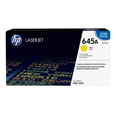 HP 645A - 12000 oldal - sárga - 1 db C9732A