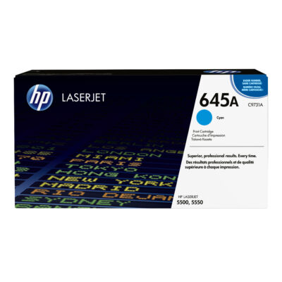 HP 645A - 12000 pages - Cyan - 1 pc(s) C9731A
