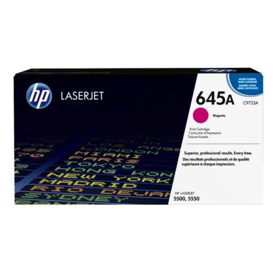 HP 645A - 12000 oldal - bíborvörös - 1 db C9733A