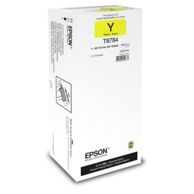 Epson Yellow XXL Ink Supply Unit - Original - Pigment-based ink - Yellow - WorkForce Pro WF-R5xxx - 1 pc(s) - 165 mm C13T878440