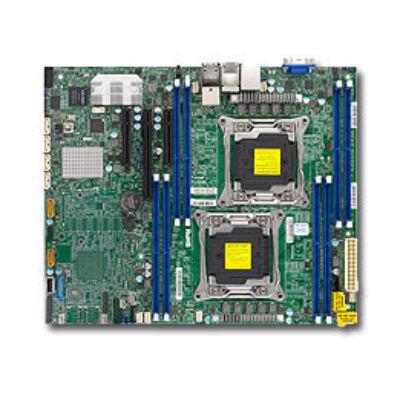 Supermicro X10Drl-iT - Motherboard - ATX - LGA2011-v3-Sockel - 2 Unterstützte CPUs - C612 - USB - Motherboard - Intel Socket R/2011 (Xeon MP)