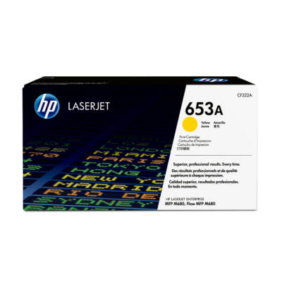 HP 653A - 16000 pages - Yellow - 1 pc(s) CF322A