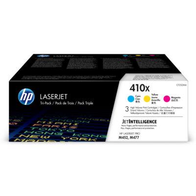 HP 410X - 5000 oldal - cián, bíborvörös, sárga - 3 db CF252XM