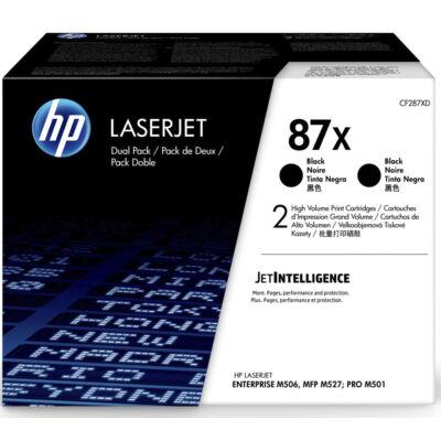 HP 87X - 18000 oldal - fekete - 2 db CF287XD
