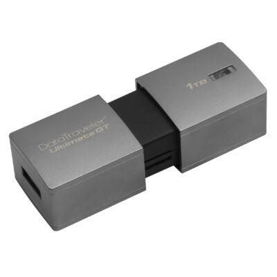 Kingston DataTraveler DTUGT/1TB - 1000 GB - USB Type-A - 3.2 Gen 1 (3.1 Gen 1) - Slide - Silver DTUGT/1TB