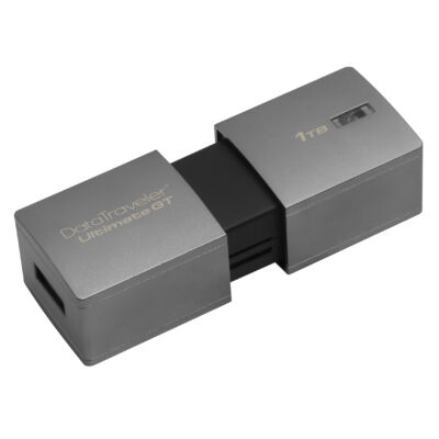 Kingston DataTraveler DTUGT / 1TB - 1000 GB - USB Type-A - 3.2 Gen 1 (3.1 Gen 1) - Slide - Ezüst DTUGT / 1TB