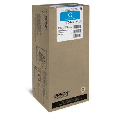 Epson Cyan XXL tintaellátó egység - Eredeti - Cián - Epson - WorkForce Pro WF-C869R - 1 db - Tintasugaras nyomtatás C13T974200