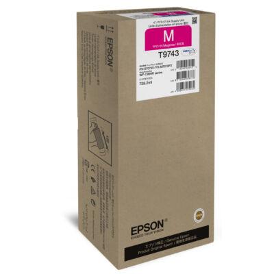 Epson Magenta XXL festékellátó egység - Eredeti - Pigmentalapú tinta - Magenta - Epson - WorkForce Pro WF-C869R - 1 db C13T974300