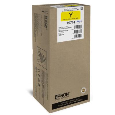 Epson Yellow XXL festékellátó egység - Eredeti - Pigmentalapú tinta - Sárga - Epson - WorkForce Pro WF-C869R - 1 db C13T974400