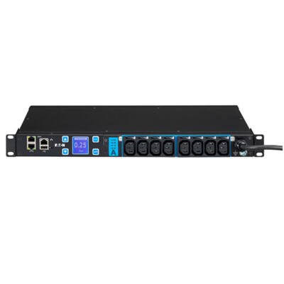 Eaton ESWH28 - kapcsolt - 1U - egyfázisú - vízszintes - fekete - LCD ESWH28
