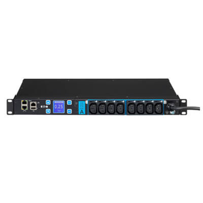 Eaton EMAH28 - Managed - 1U - Single-phase - Horizontal - Black - LCD EMAH28