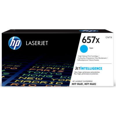 HP LaserJet 657X - Toner Cartridge Original - cyan - 23,000 pages CF471X