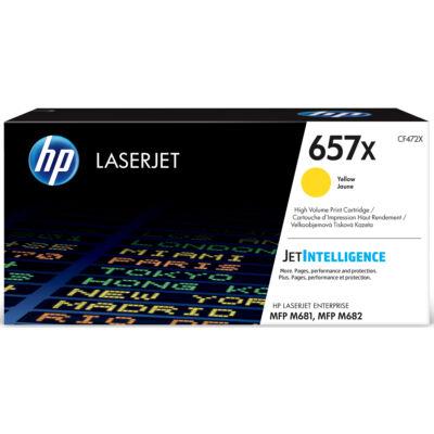 HP LaserJet 657X - Eredeti festékkazetta - sárga - 23 000 oldal CF472X