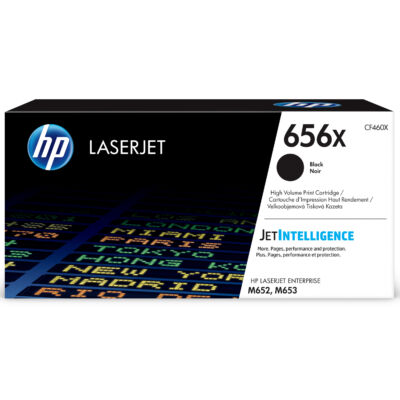 HP LaserJet 656X - Toner Cartridge Original - Black - 27,000 pages CF460X