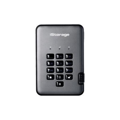iStorage diskAshur PRO2 - 500 GB - 2,5 - 3,2 Gen 1 (3.1 Gen 1) - 5400 RPM - fekete, grafit IS-DAP2-256-500-CG