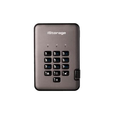 iStorage diskAshur PRO2 - 1000 GB - USB Type-A - 3.2 Gen 2 (3.1 Gen 2) - 294 MB/s - 5 GT/s - Black,Graphite IS-DAP2-256-SSD-1000-C-G