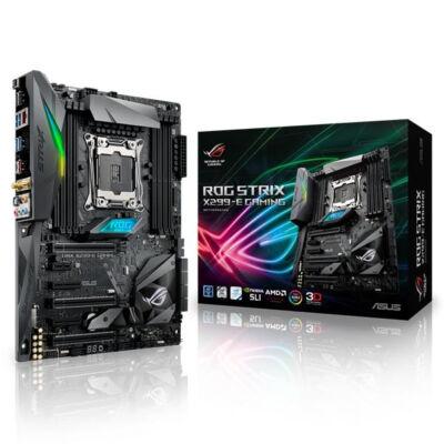 ASUS ROG STRIX X299-E GAMING - Intel - LGA 2066 - Intel Core i7 - DDR4-SDRAM - DIMM - 2133,2400,2666,2800,3200,3300,3333,3400,3466,3600,3733,3866,4000,4133 MHz 90MB0U50-M0EAY0