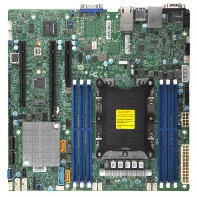 Supermicro X11SPM-F - Intel - LGA 3647 (Socket P) - 165 W - DDR4-SDRAM - 1600,1866,2133,2400,2666 MHz - 768 GB MBD-X11SPM-F-O