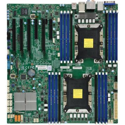 Supermicro X11DAi-N - Intel - LGA 3647 (Socket P) - 10.4 GT/s - DDR4-SDRAM - 2133,2400,2666 MHz - 2048 GB MBD-X11DAI-N-O