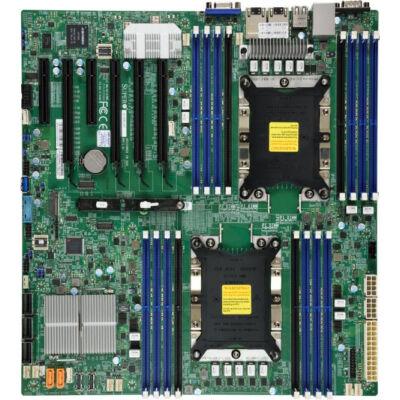 Supermicro X11DPI-NT - Intel - 205 W - 10,4 GT / s - DDR4-SDRAM - 2133 2400 2666 MHz - 2048 GB MBD-X11DPI-NT-B