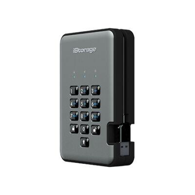 iStorage diskAshur PRO2 - 3000 GB - 3.2 Gen 1 (3.1 Gen 1) - Black,Graphite IS-DAP2-256-3000-C-G