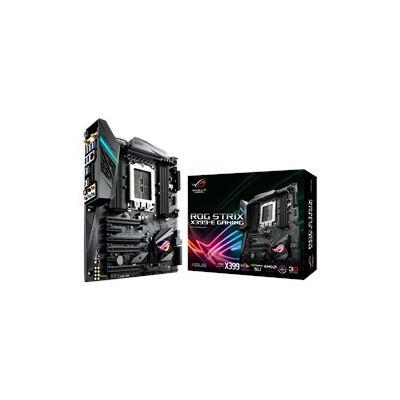 ASUS ROG STRIX X399-E GAMING - AMD - Socket TR4 - AMD Ryzen - DDR4-SDRAM - DIMM - 2133,2400,2666,2800,3200,3600 MHz 90MB0V70-M0EAY0