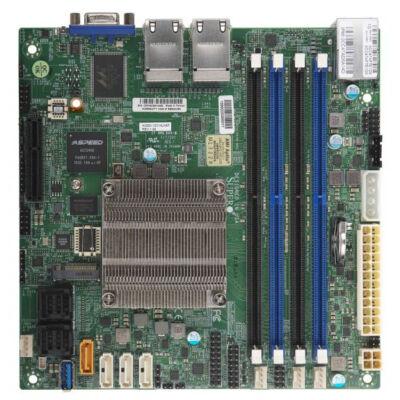 Supermicro Motherboard A2SDi-8C-HLN4F - A2SDI-8C-HLN4F - Socket FCBGA1310 - Up to 256GB Registered ECC DDR4-2400MHz