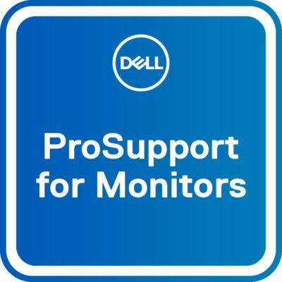 Dell frissítés a 3Y Advanced Exchange-ről az 5Y ProSupport monitorokra - 5 év - 24x7x365 M551XX_2635