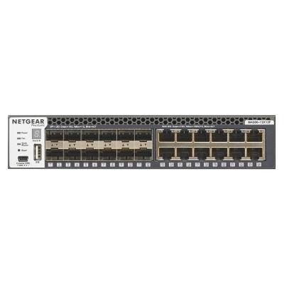 Netgear M4300-12X12F - Managed - L2/L3 - 10G Ethernet (100/1000/10000) - Rack mounting - 1U XSM4324S-100NES