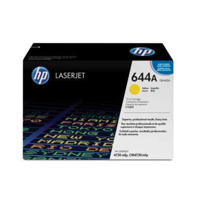 HP 644A - 12000 oldal - sárga - 1 db Q6462A